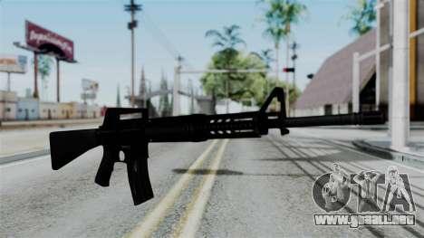 No More Room in Hell - M16A4 Carryhandle para GTA San Andreas