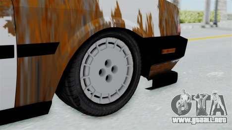 Tofas Dogan Modified para GTA San Andreas vista posterior izquierda