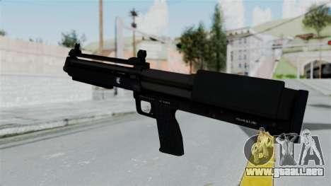GTA 5 Bullpup Shotgun para GTA San Andreas segunda pantalla
