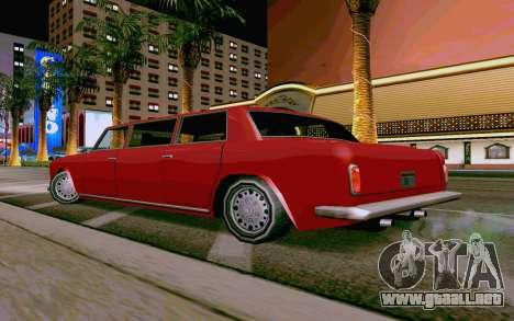 Stafford Limousine v2.0 para la visión correcta GTA San Andreas