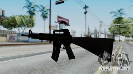 No More Room in Hell - M16A4 Carryhandle para GTA San Andreas segunda pantalla