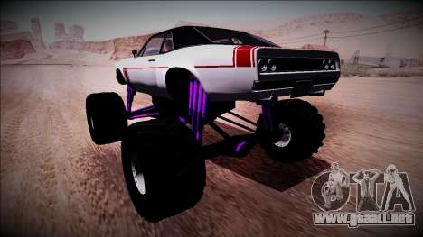 GTA 5 Declasse Tampa Monster Truck para GTA San Andreas left