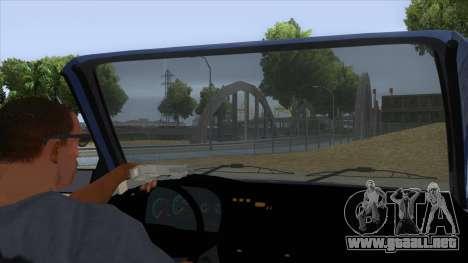 Dacia SuperNova para visión interna GTA San Andreas