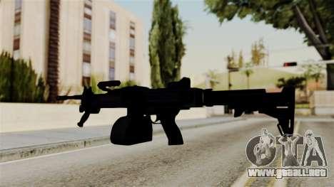 IMI Negev NG-7 Stanag Magazine para GTA San Andreas tercera pantalla