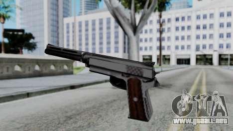 Vice City Beta Silver Colt 1911 para GTA San Andreas tercera pantalla
