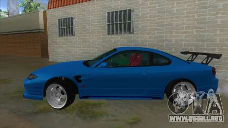 Nissan Silvia S15 326 Power para GTA San Andreas left