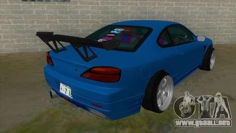 Nissan Silvia S15 326 Power para la visión correcta GTA San Andreas