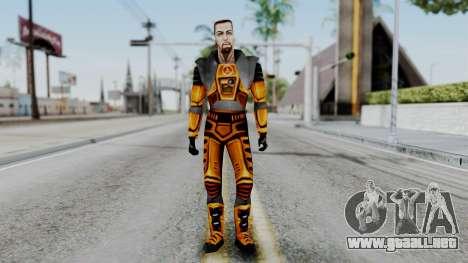 Gordon Freeman HEV SUIT from Half Life para GTA San Andreas segunda pantalla