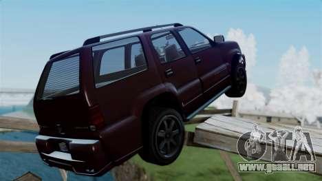 GTA 5 Albany Cavalcade v1 para GTA San Andreas left