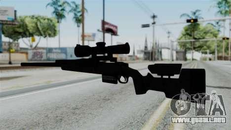 TAC-300 Sniper Rifle v2 para GTA San Andreas segunda pantalla