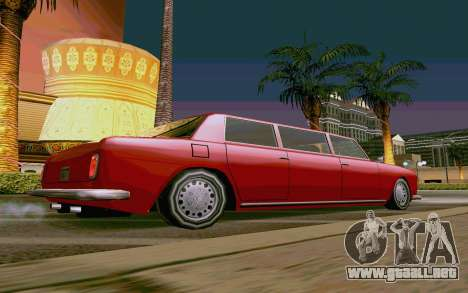 Stafford Limousine v2.0 para GTA San Andreas left