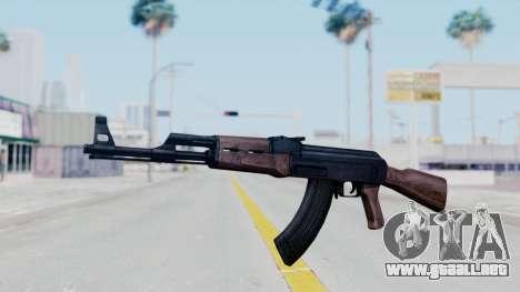 Thanezy AK-47 para GTA San Andreas segunda pantalla