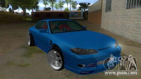 Nissan Silvia S15 326 Power para GTA San Andreas vista hacia atrás