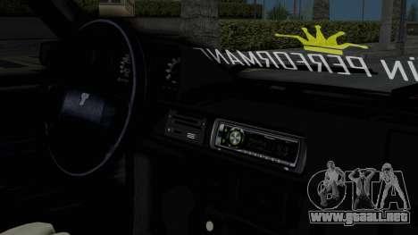 Tofas Dogan Modified para la visión correcta GTA San Andreas