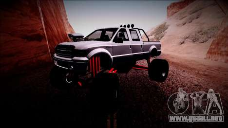 GTA 5 Vapid Sadler Monster Truck para GTA San Andreas left