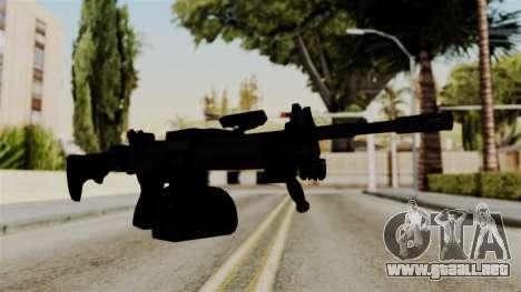 IMI Negev NG-7 Stanag Magazine para GTA San Andreas segunda pantalla