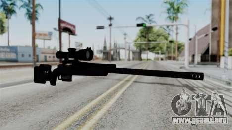 TAC-300 Sniper Rifle v2 para GTA San Andreas