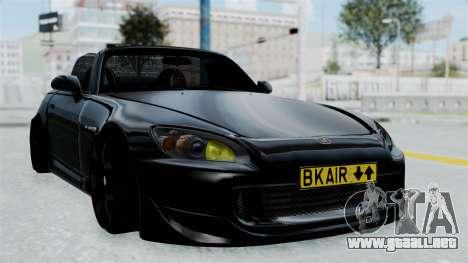 Honda S2000 Berlin Black para GTA San Andreas