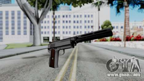 Vice City Beta Silver Colt 1911 para GTA San Andreas segunda pantalla
