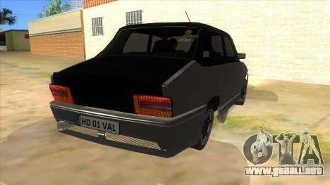 Dacia 1310 Tunata para GTA San Andreas vista hacia atrás