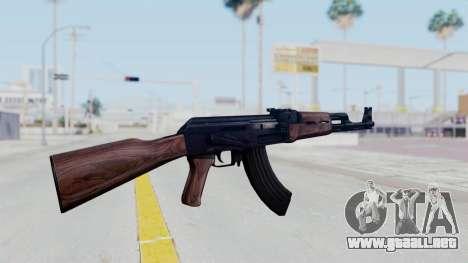 Thanezy AK-47 para GTA San Andreas tercera pantalla