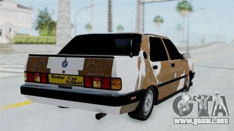 Tofas Dogan Modified para GTA San Andreas left