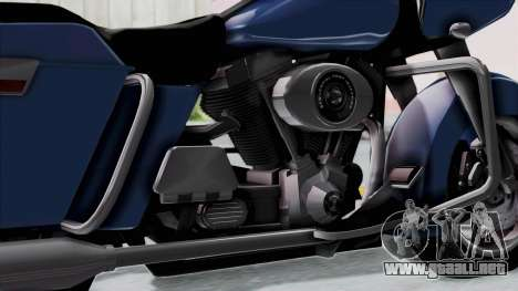 Harley-Davidson Road Glide para la visión correcta GTA San Andreas