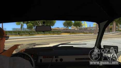 Dacia 1310 Tunata para visión interna GTA San Andreas