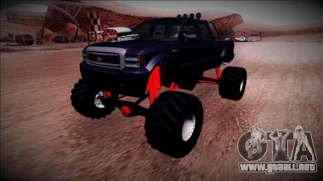 GTA 5 Vapid Sadler Monster Truck para GTA San Andreas
