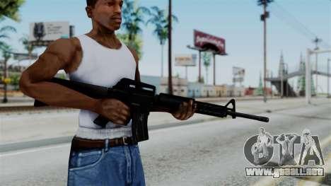 No More Room in Hell - M16A4 Carryhandle para GTA San Andreas tercera pantalla