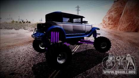 GTA 5 Albany Roosevelt Monster Truck para la visión correcta GTA San Andreas