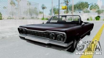 Aumentada. para GTA San Andreas