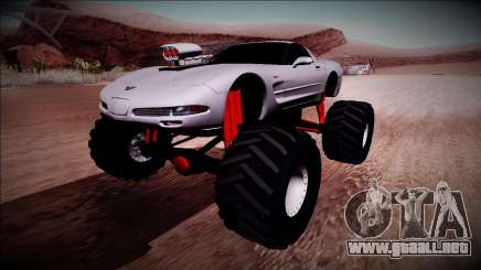 Chevrolet Corvette C5 Monster Truck para GTA San Andreas