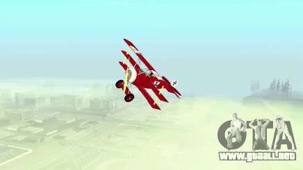 Fokker Dr1 triplane para GTA San Andreas