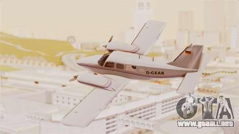 Piper Seneca II para GTA San Andreas left