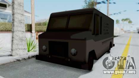 Boxville from Manhunt para GTA San Andreas