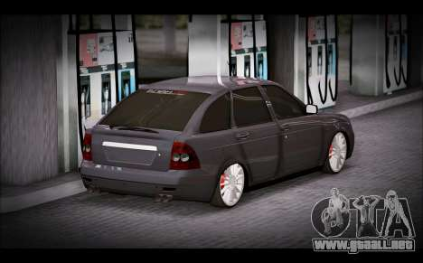 Lada Priora Bpan Version para GTA San Andreas left