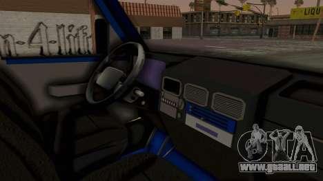 Zastava Rival Ice Cream Truck para la visión correcta GTA San Andreas