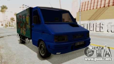 Zastava Rival Ice Cream Truck para GTA San Andreas