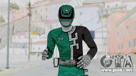 Power Rangers S.P.D - Green para GTA San Andreas