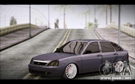 Lada Priora Bpan Version para la visión correcta GTA San Andreas