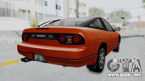 Nissan Sileighty - Stock para GTA San Andreas left