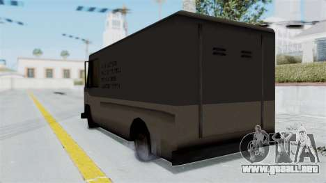Boxville from Manhunt para GTA San Andreas left