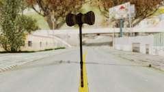 Skyrim Iron Warhammer para GTA San Andreas