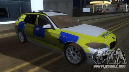 Jersey de Policía BMW 530d Touring para GTA San Andreas