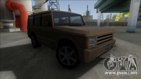 New Huntley para GTA San Andreas left