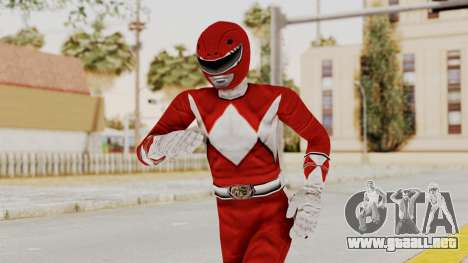 Mighty Morphin Power Rangers - Red para GTA San Andreas