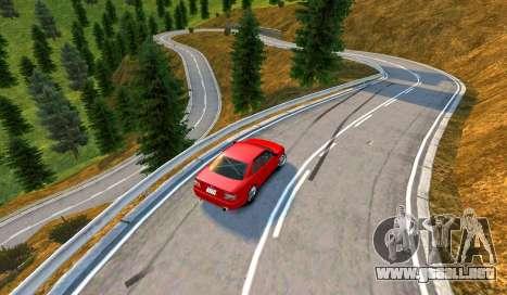 Kagarasan Pista para GTA 4 segundos de pantalla