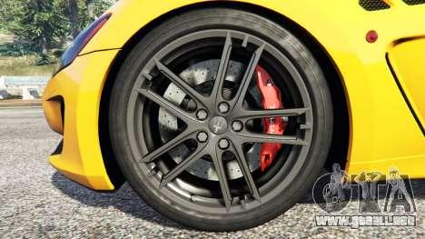Maserati GranTurismo MC Stradale para GTA 5