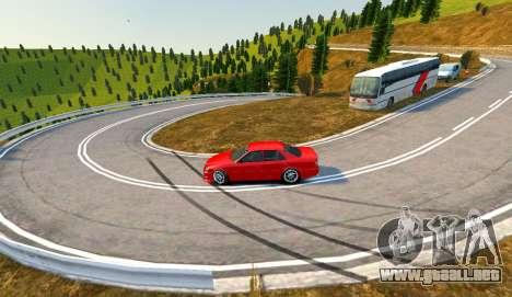 Kagarasan Pista para GTA 4 adelante de pantalla